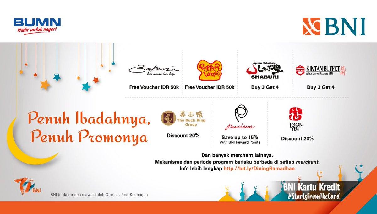 Bank Bni Kompilasi Promo Ramadhan 2018 S D Juli 2018 Promosi247 Tempatnya Info Promosi Diskon Terbaru