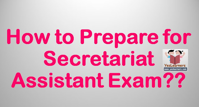 How to Prepare for Secretariat Exam