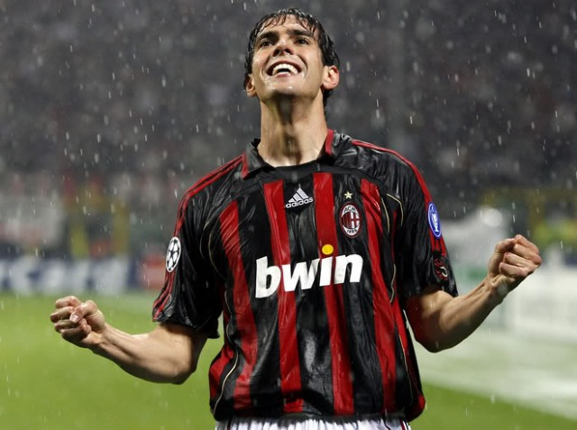 Football Wallpaper: Ricardo Kaka Ac Milan Is Back