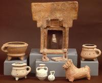 Kерамичен олтар на Астарта Палестина хълм Нево ок. 800 г. пр. Хр.