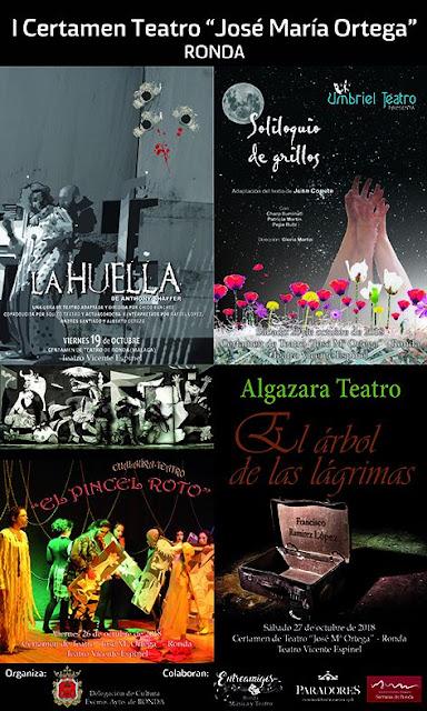 I Certamen de Teatro Aficionado de Ronda