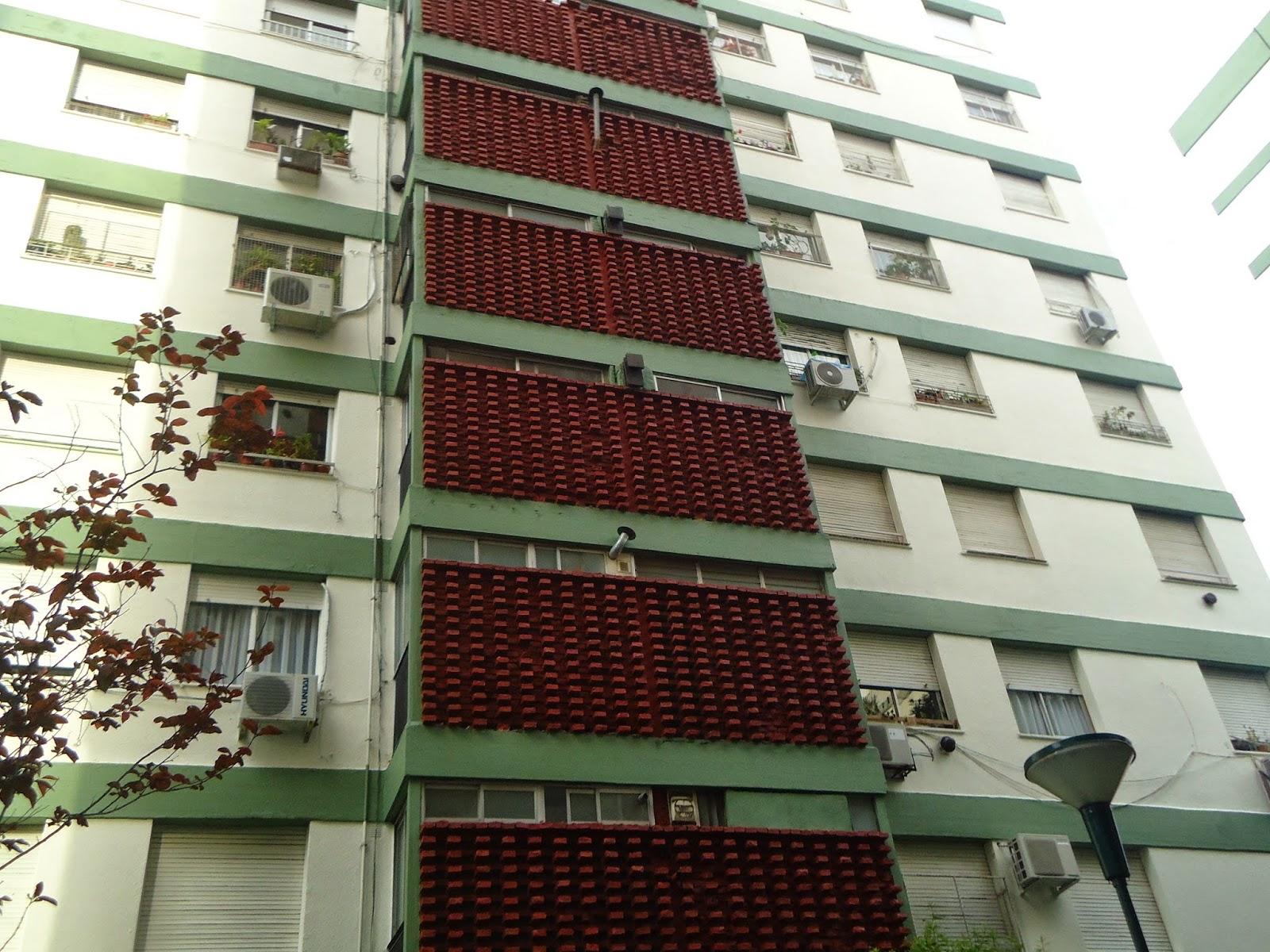 Edificios con impermeabilizacion de terrazas y pintura.
