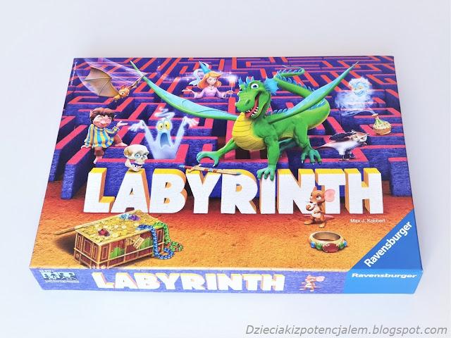 Gra planszowa dla dzieci kolorowe pudełko gry Labyrinth