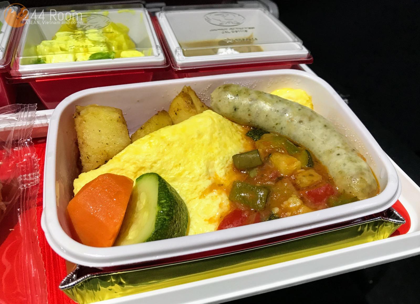 JALエコノミークラス機内食 JAL Economyclass-flight-meal3