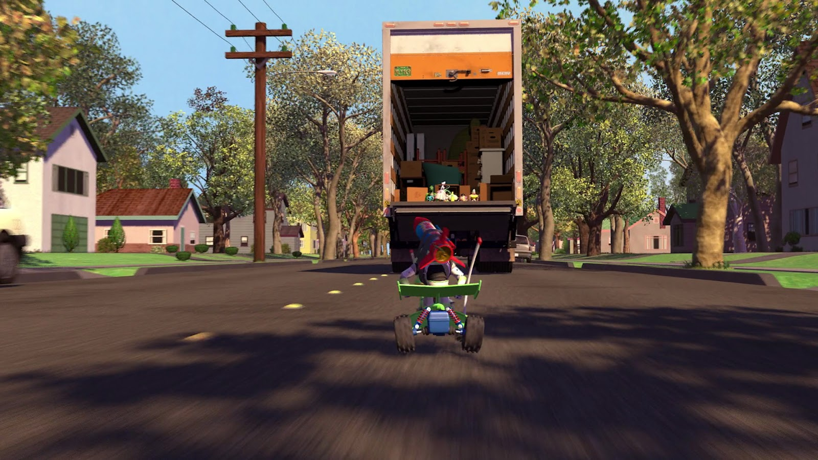 Toy Moving Truck Woody Buzz Moving Van Pictures To Pin On Pinterest Pinsdaddy
