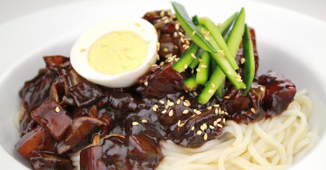 Jjajangmyeon resepi makanan korea