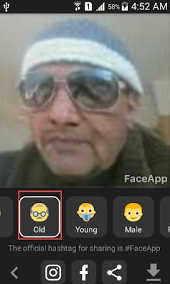 تطبيق لتغيير الوجوه وإضافة إبتسامات وتعبيرات عليها للهواتف الذكية FaceApp