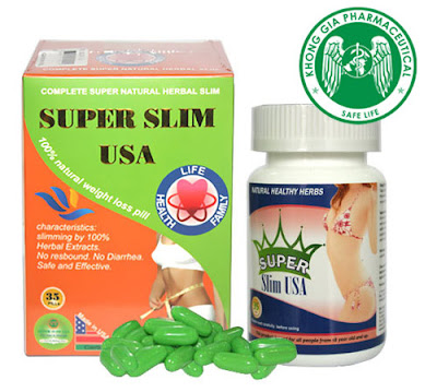 Super Slim USA - viên uống giảm cân của Mỹ