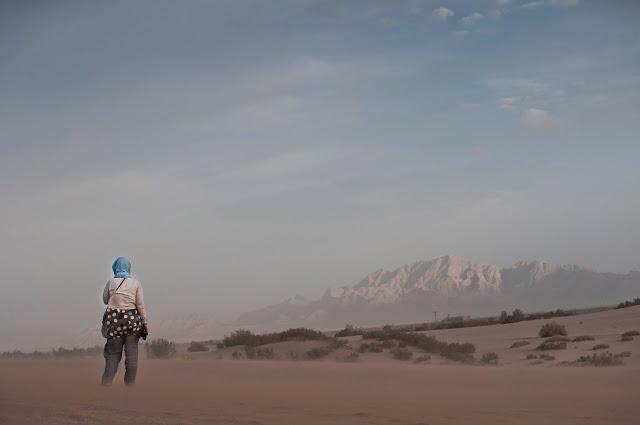 Fahraj Desert, Iran