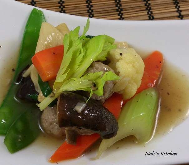 Asian Mixed Vegetables 28