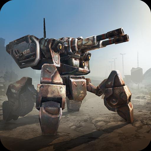 تحميل لعبة Mech Legion Age of Robots v2.15 مهكرة شراء مجانا