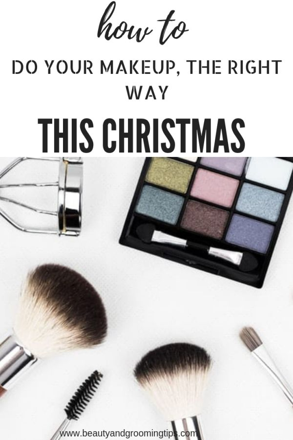 makeup paraphernalia - look glam this christmas