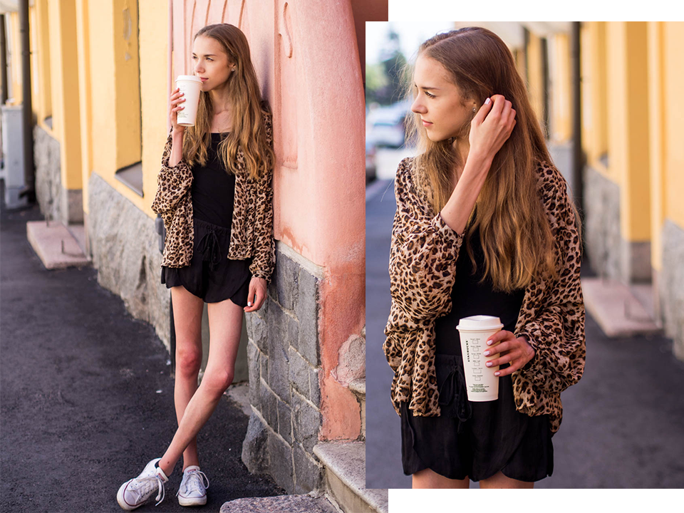 how-to-style-leopard-shirt