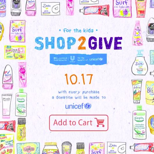 Manila Shopper: Unilever x Lazada Shop2Give Promo: Oct 17
