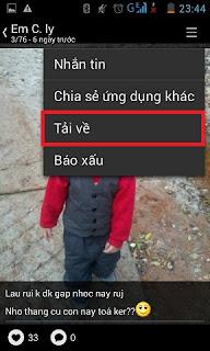 Cách tải ảnh từ zalo về điện thoại Iphone, Samsung, Sony, HTC
