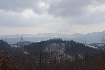 szlak na Chełmiec widoki