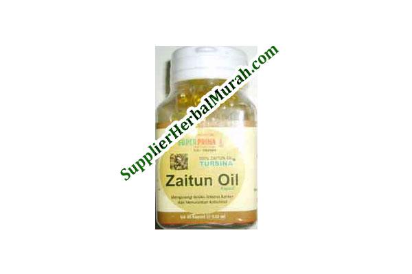 Kapsul Minyak Zaitun Tursina Isi 60 (Super Prima)