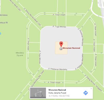 Cara Mengetahui atau Mencari Koordinat Pada Google Maps