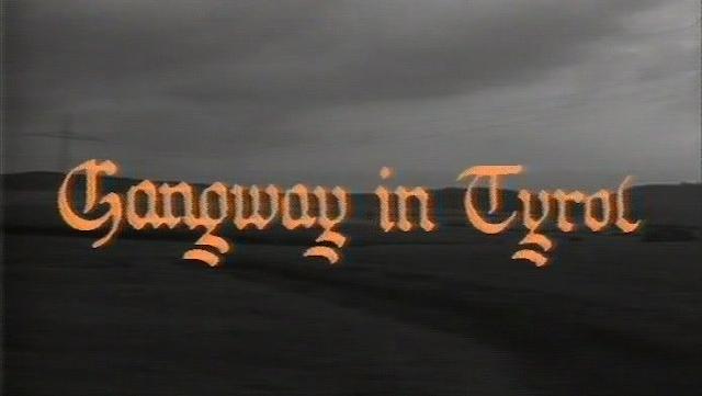 Gangway i Tyrol fortekst
