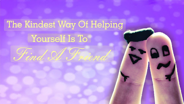Friendship day cover pics with Quotes in English