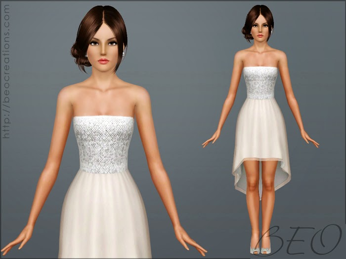 My Sims 3 Blog: Cocktail Dress By BEO