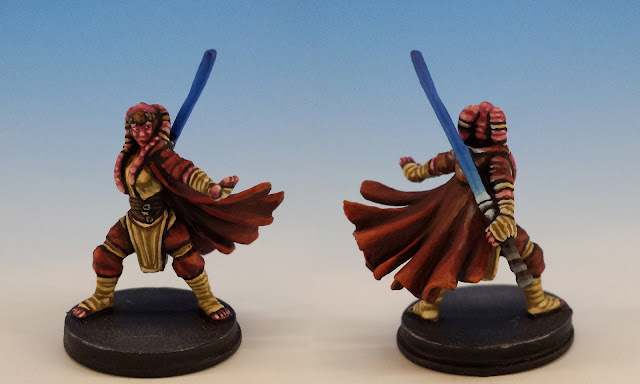 Diala Passil, Imperial Assault FFG (2014, sculpted by Benjamin Maillet)
