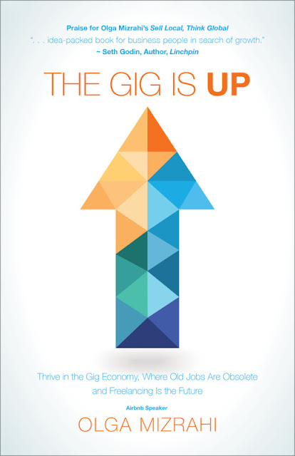 The Gig is Up by Olga Mizrahi book review #ad