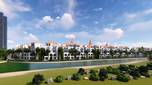 Biệt thự Sunshine Winder Villas View sân Golf tại Ciputra