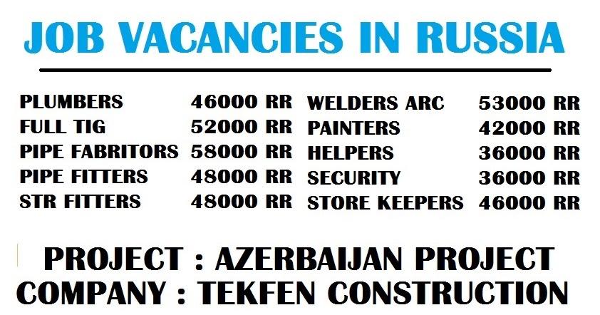 Job Vacancy Dubai 2017