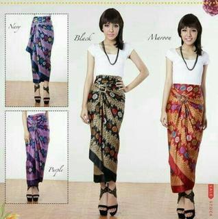 rok span batik modern