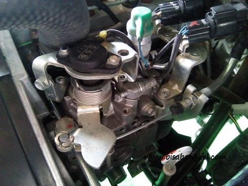 Fungsi Sensor Terbaru Di Injection  Pump Pada Kendaraan Mitsubishi L300