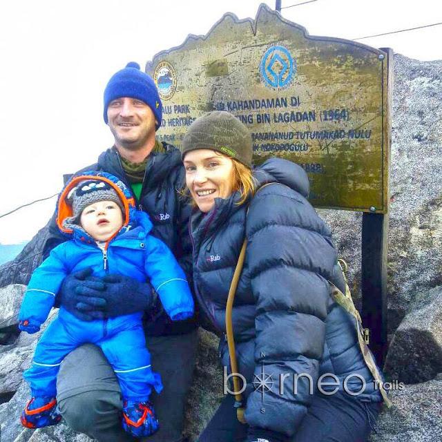 Bayi 10 Bulan Berjaya Ke Puncak Gunung Kinabalu