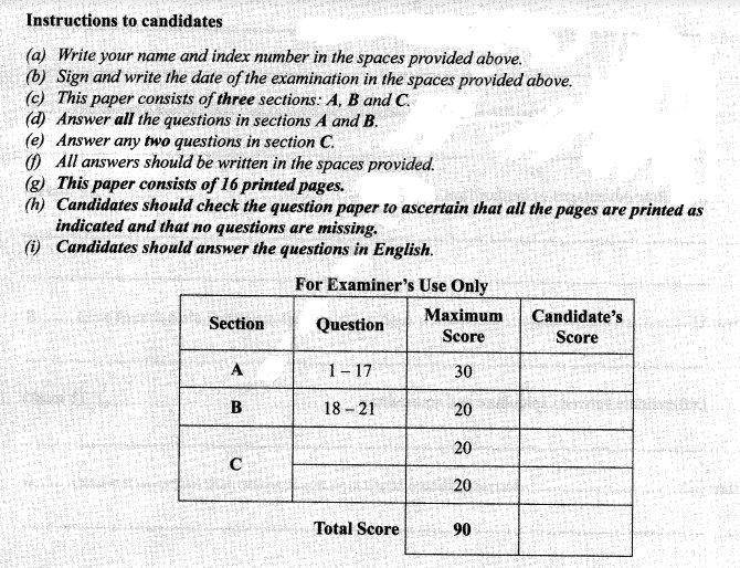 KCSE PAST PAPERS (Pdf): KCSE PAST PAPERS FREE