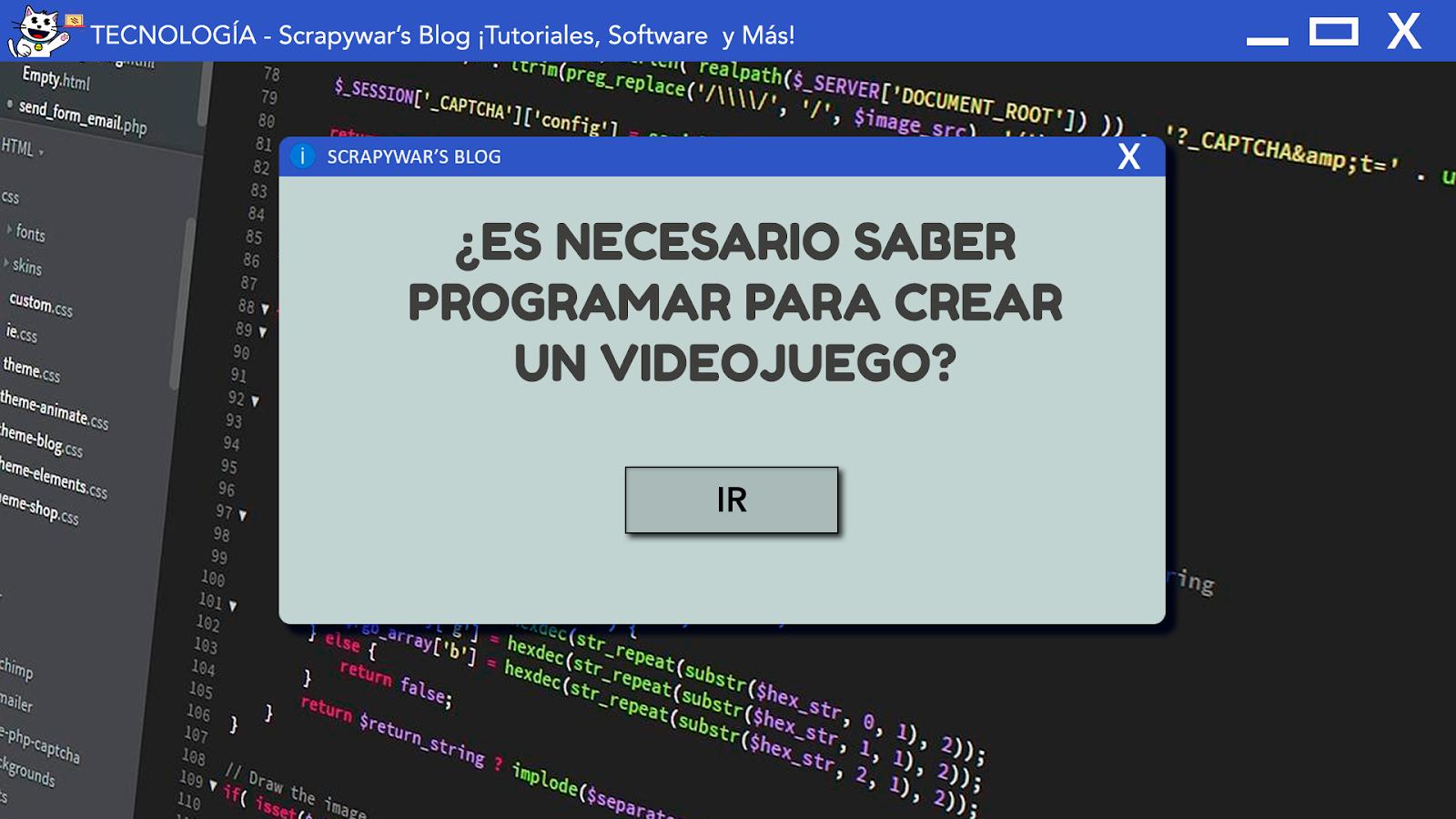 ¿Es necesario saber programar?