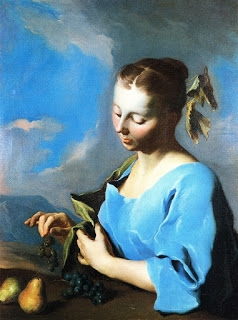 Подборка живописи «Леди в голубом»