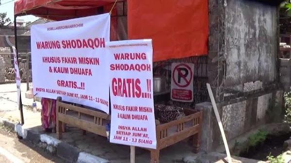 10 warung sedekah di Indonesia