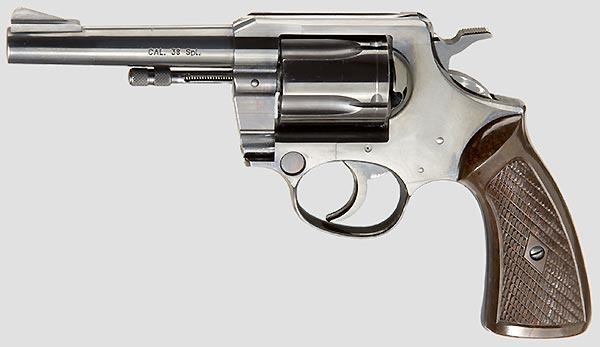 Korth Polizei Revolver Serie 20