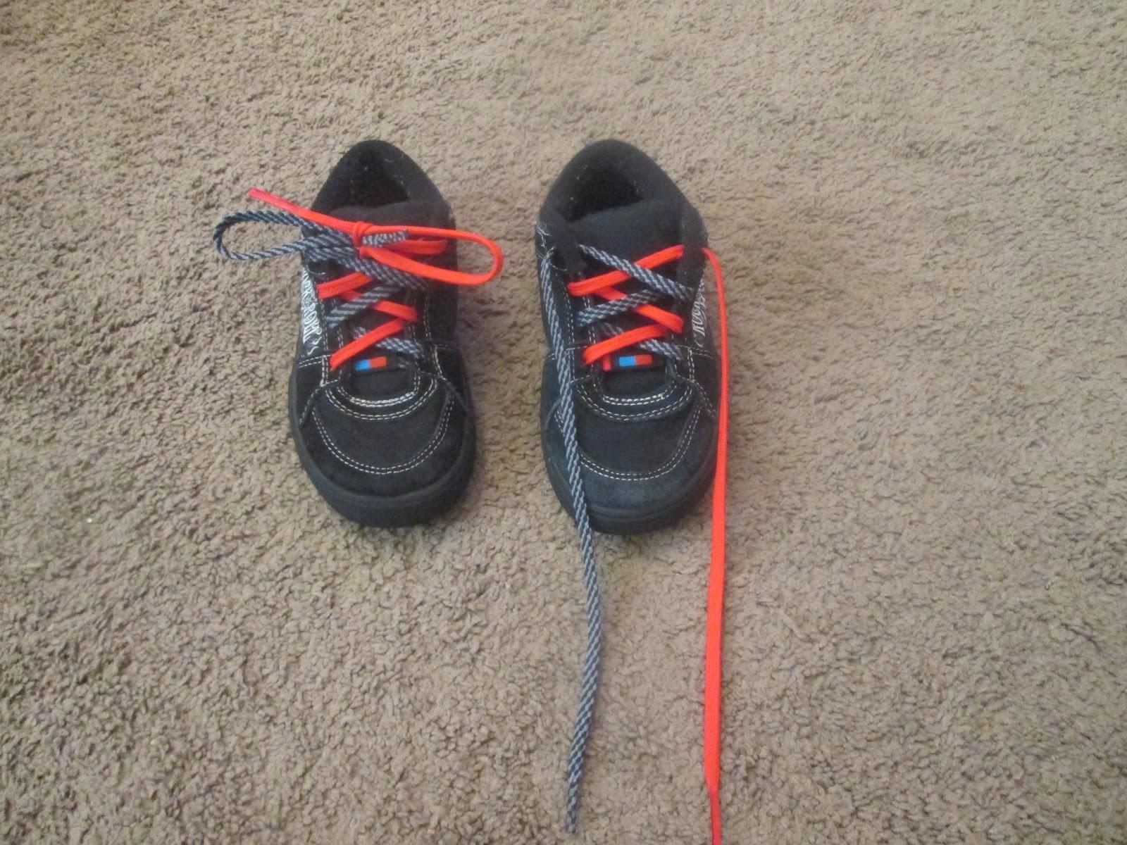 Shoe Lace Helper Kids