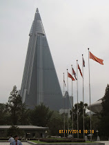 World's Tallest: Ryugyong Hotel, Pyongyang -- All an empty shell inside and has no customers!