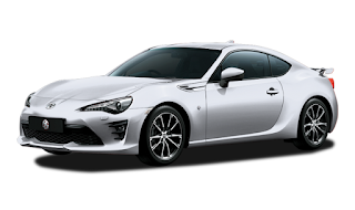 Toyota FT 86 Warna  Ice Silver Metallic