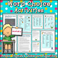 https://www.teacherspayteachers.com/Product/Word-Choice-Activities-420762