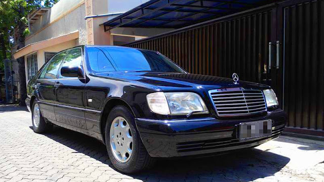 Mercedes Benz W140 300SEL KTT non blok