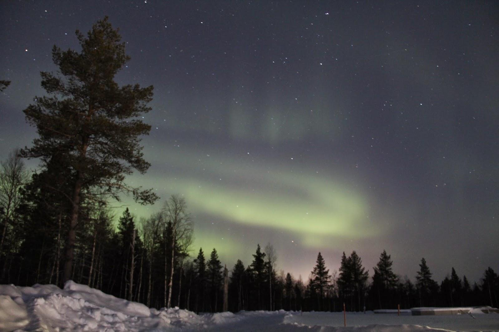 Aurora Borealis Finnish Lapland