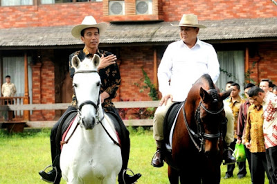 Diplomasi Kuda Jokowi-Prabowo