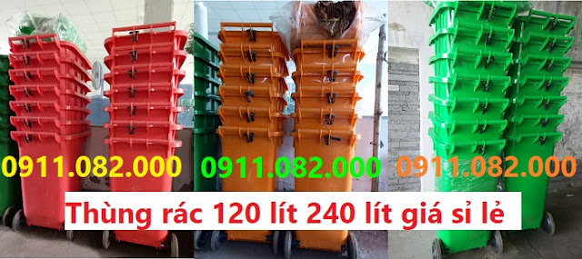 Đồng nai chuyên bán thùng rác 120 lít 240 lít giá rẻ nhất- lh 0911082000 Ms. Nhiên
