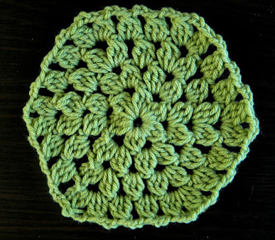 Easy Cluster Hexagon Granny Square Video Tutorial