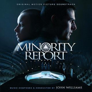 MINORITY REPORT JOHN WILLIAMS SOUNDTRACK COVER ALTERNATE CUSTOM