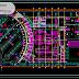 مخطط مشروع محطة تنقية المياه اوتوكاد dwg