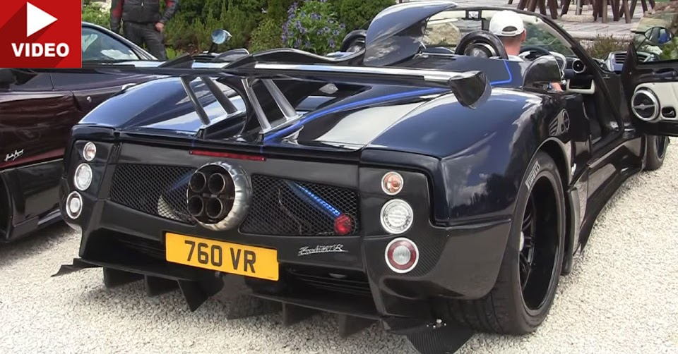 Pagani Zonda Best Sounding Car