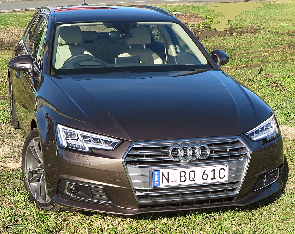 A mighty handsome wagon whichever way you sight up the audi a4 avant